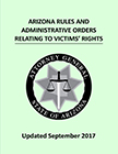 Victims' Rights Rule Book pamphlet cover